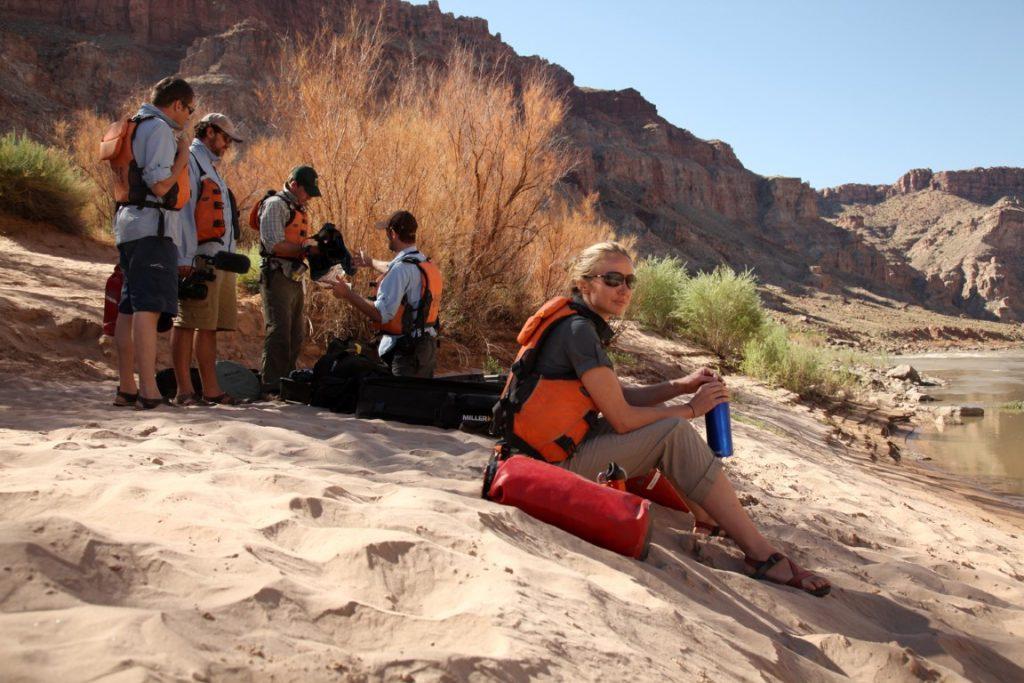 Rafting the Colorado River (Medium)